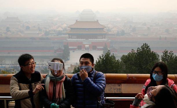 Pekingin ilmanlaatu on vaarallisen huono.