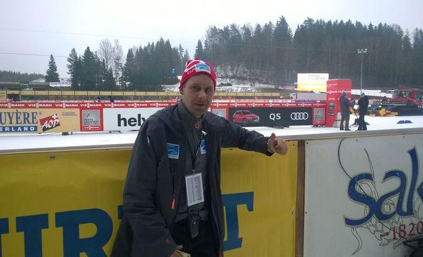 Nyt Jaak Mae toimii Otepään maailmancupin kilpailujohtajana ja projektipäällikkönä.