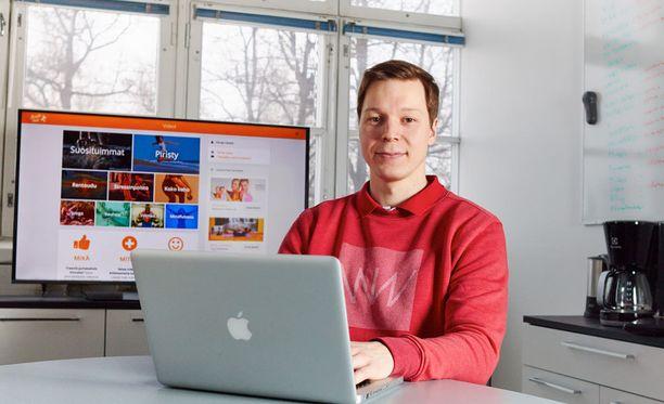Insinööri Ollipekka Kivin on nyt hyvinvointiyrittäjä.