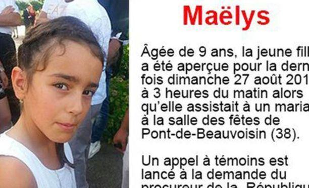 Viime kesänä hääjuhlista kadonneen Maëlys-tytön järkyttävä kohtalo on koskettanut ihmisiä ympäri maailmaa.