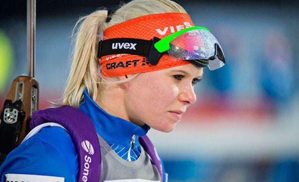 Mari Laukkanen oli viime kaudella maailmancupissa kahdesti viides, mutta näiltä lumilta on vain yksi suoritus 20 parhaan joukkoon.