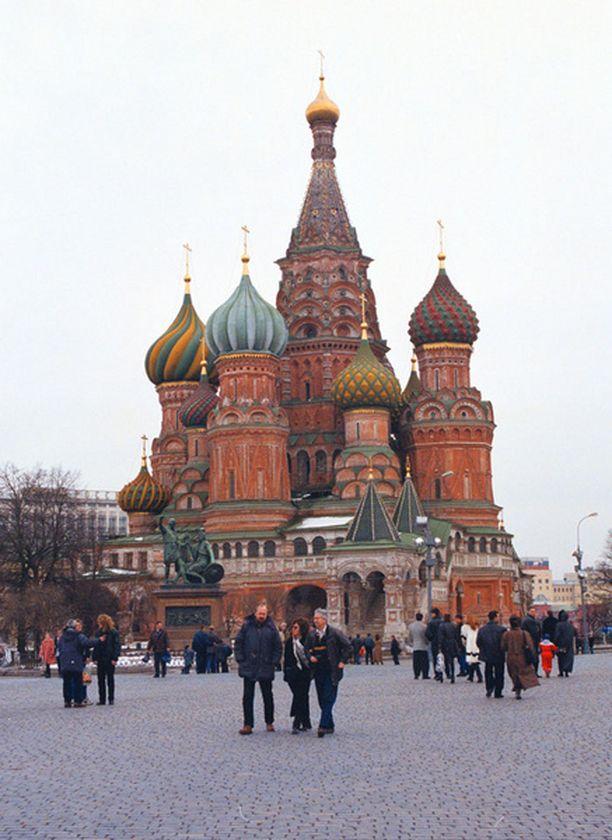 Yöpyminen on hinnakasta Moskovassa.