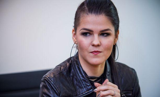 Saara Aalto nähdään lauantaina (12.5.) Euroviisu-kilpailun finaalissa.