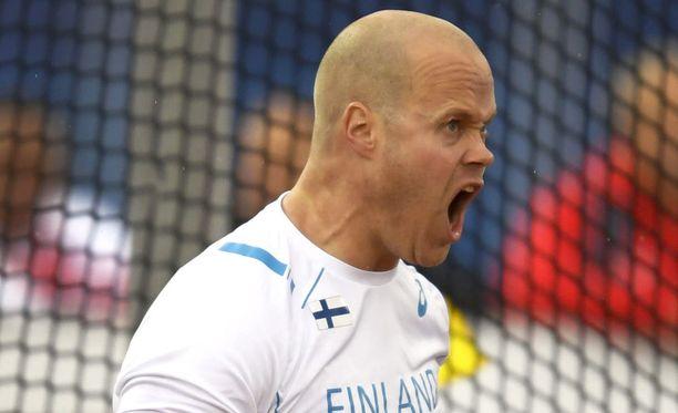 David Söderberg lähtee jälleen MM-kisoihin.