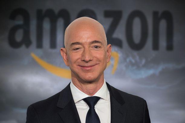 Jeff Bezosin omaisuuden arvoksi arvioidaan 170 miljardia euroa.