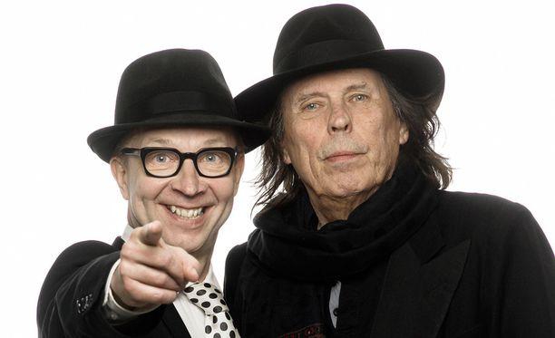 Simo Frangen ja Dave Lindholm julkaisevat palindromi-albumin.