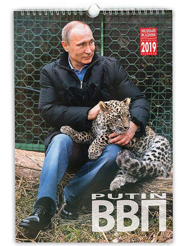 Putin on myös luonnon ystävä.