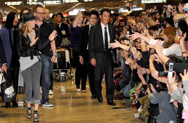 Sarah Jessica Parker ilahtui fanien vastaanotosta.