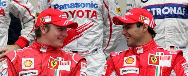 """Halpaa kuin saippua. Kimi Räikkösen ja Felipe Massan MM-pisteet olivat """"edullisia""""."""
