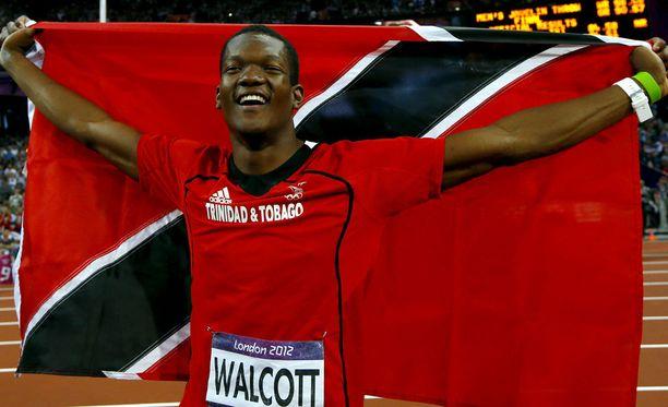 Trinidad ja Tobagosta tuleva Keshorn Walcott voitti olympiakultaa 2012.