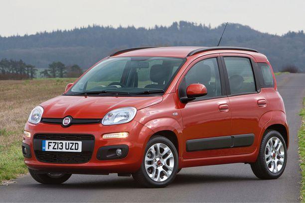 Piskuinen Fiat Panda on Italian suosituin.