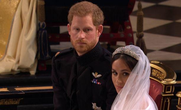 Harry odotti liikuttuneena Meghania.