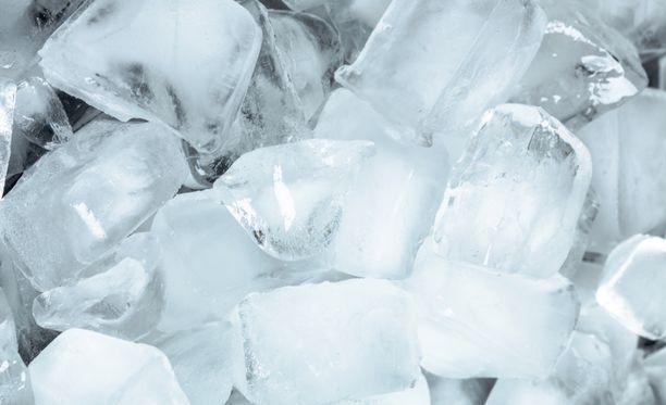 Auttaisiko mielikuvaharjoittelu jääpalakuvan kanssa?