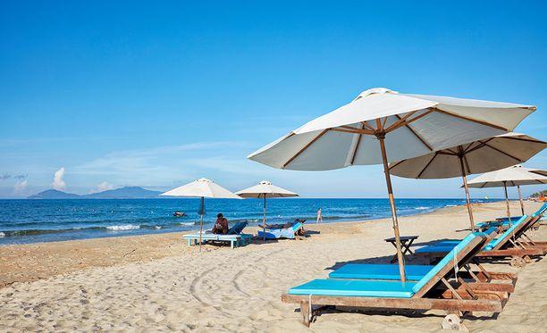 Cua Dain ranta Vietnamissa oli vertailun edullisin.