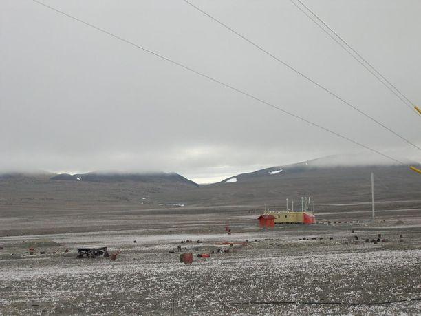 Lämpömittari kohosi 21 asteeseen Alertin mittausasemalla sunnuntaina.