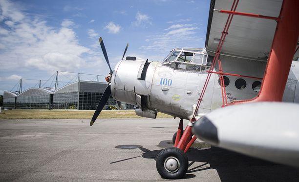 Kuvituskuva An-2-koneesta Saksassa.