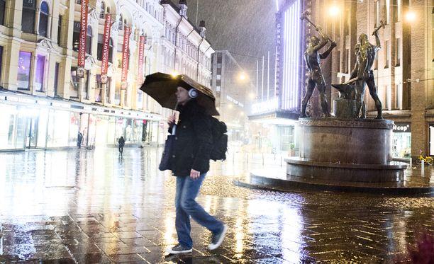 Kolean syyskelin myötä sateita on luvassa runsain mitoin.