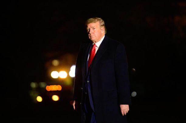 Presidentti Donald Trump on ensimmäinen istuva presidentti 28 vuoteen, jota ei valittu jatkokaudelle.