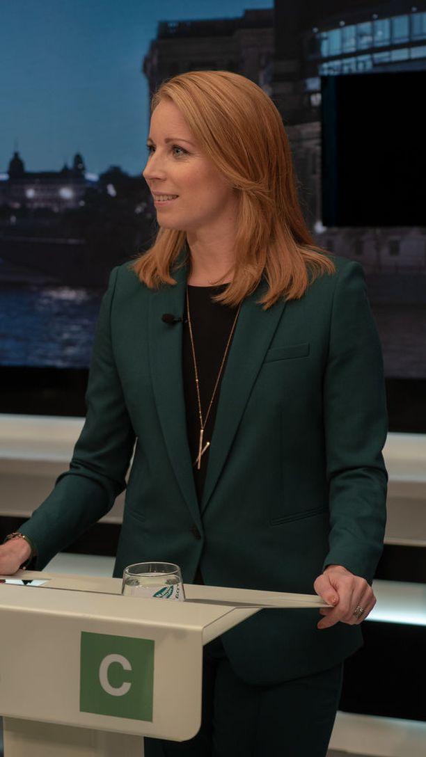 Annie Lööf onnistui saamaan keskustan vaalivoittoon.
