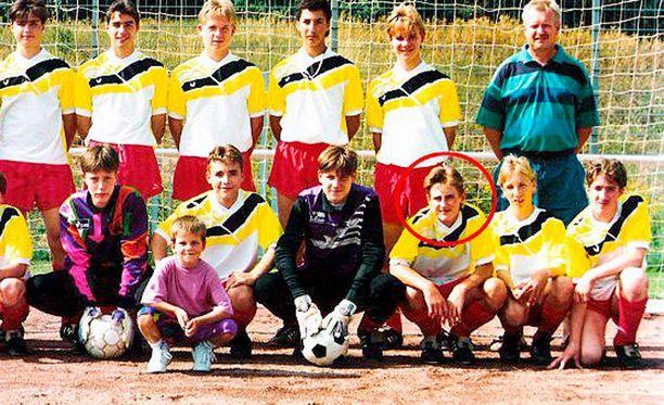 Miroslav Klose junioriaikoinaan.