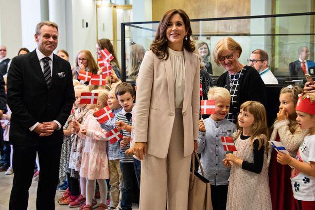 Kruununprinsessa Mary ei ole aikaisemmin käynyt Suomessa.