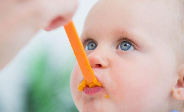 Ainoastaan tavallisia maitotuotteita vältetään kymmenen kuukauden ikään asti.