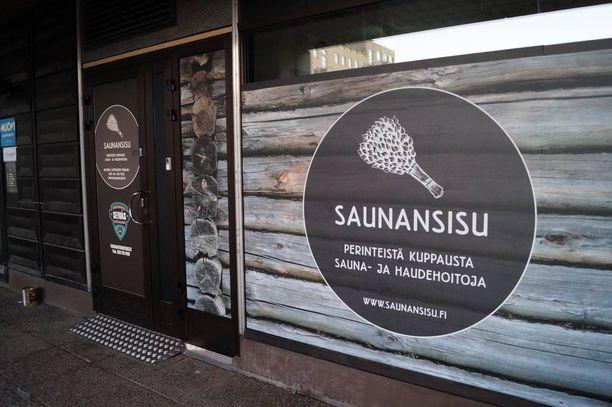 SaunanSisu ei ole ulkonäöltään mikään tavallinen city-sauna, vaikka kaupungissa sijaitseekin.