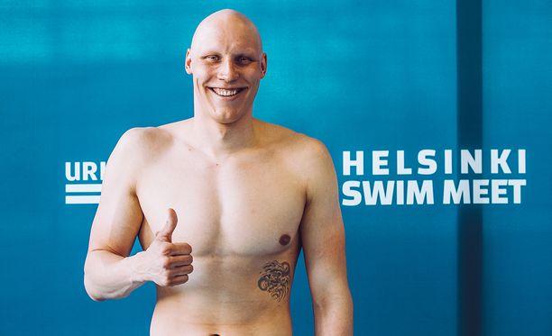 Matti Mattsson taistelee tosissaan olympiamitalista.