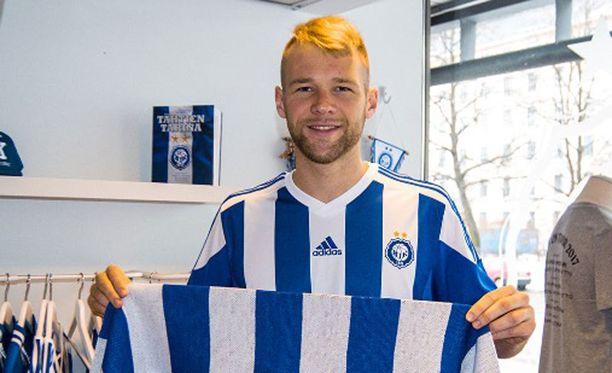 Brasilialainen Joao Klauss de Mello aloitti väkevästi HJK:ssa.