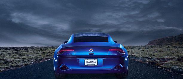 Karma kulkee yhdellä latauksella ilman polttoainetta 80 kilometriä.