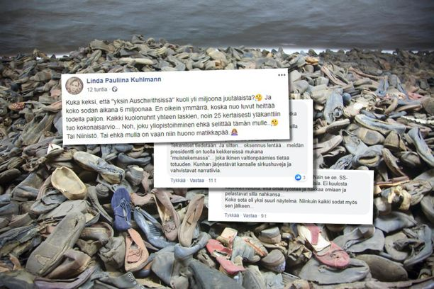 Polvijärven kuntapäättäjä Pauliina Kuhlmann kirjoitti Facebookissa epäilevään sävyyn muun muassa holokaustista.