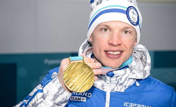 Iivo Niskanen voitti kaksi viikkoa sitten olympiakullan.