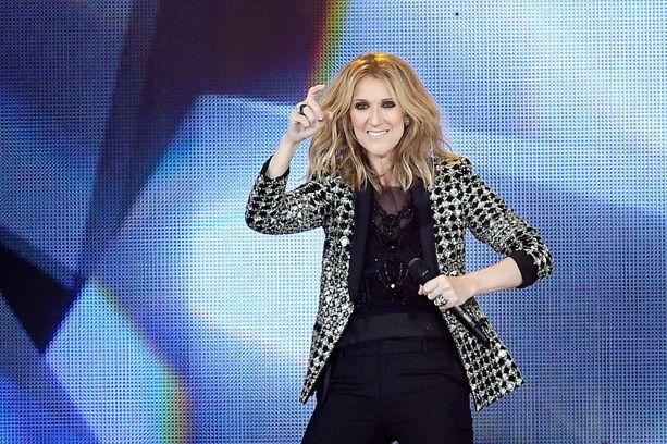 Celine Dion on laulanut jo vuosia. Hän keikkailee aktiivisesti edelleen.