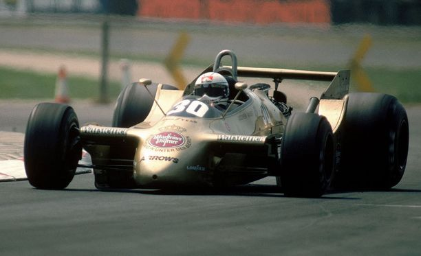 Käheät peilit ja naapurin traktorista nyysityt takarenkaat. Jochen Massin vuonna 1979 piiskaama Arrows on oikeastaan jopa tyylikäs, vaikkei kenties viisain mahdollisin luomus.