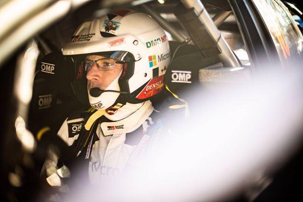 Jari-Matti Latvala syytti itseään viidenneksi jäämisestä.