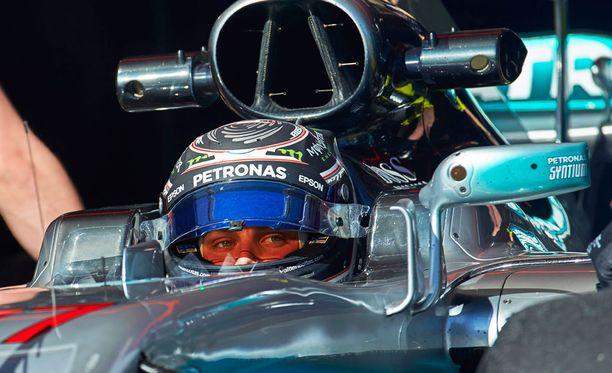 Valtteri Bottas saa ajaa joka päivä tiistaista perjantaihin Barcelonassa.
