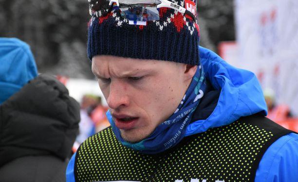 Iivo Niskasella oli paha olo perjantaina Italiassa Etelä-Tirolissa.