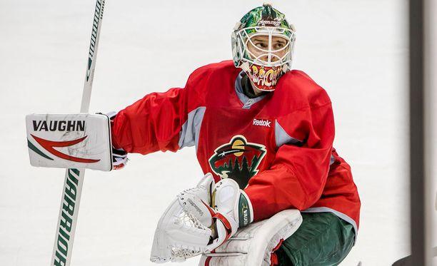 Niklas Bäckström on valmis lähtemään Minnesota Wildista.