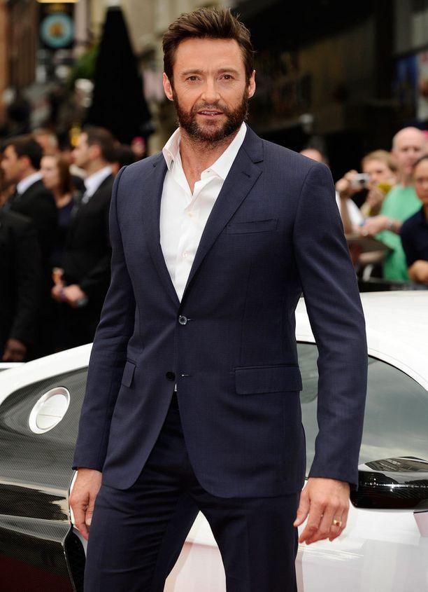 Hugh Jackman Lontoossa Wolverine-elokuvan ensi-illassa.