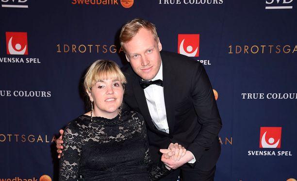 Anna Holmlund palasi parrasvaloihin alkuvuodesta yhdessä miesystävänsä Victor Öhling Norbergin kanssa.