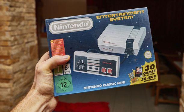 NES Classic Mini -konsolit vietiin käsistä, kun ne tulivat myyntiin.