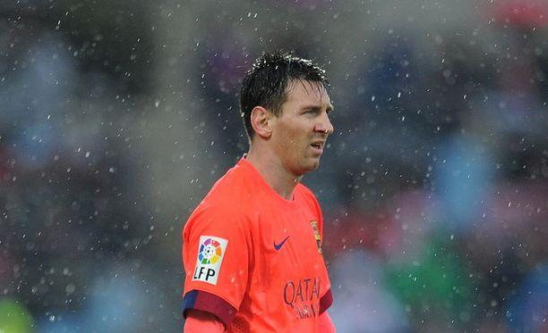 Lionel Messin hurja Argentiinan vuoden pelaaja -putki katkesi.
