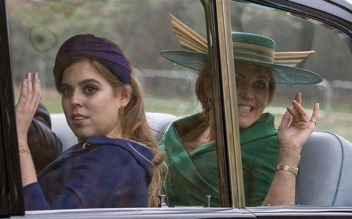 Fergie ja Prinsessa Eugenie yhdessä karanteenissa – osoittavat tukensa sairaalahenkilökunnalle