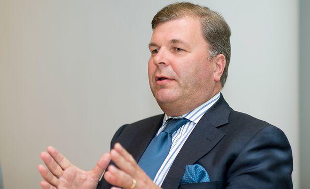 Ari Lahti on käytettävissä Palloliiton puheenjohtajaksi.