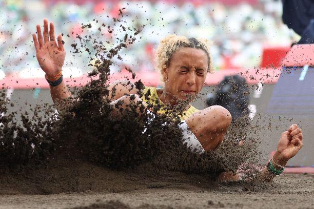 Saksalainen Malaika Mihambo on pituushypyn hallitseva EM-, MM- ja olympiakultamitalisti.