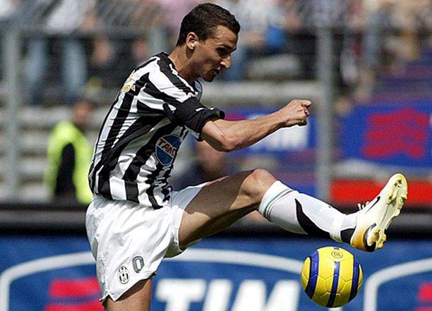 Zlatan pääse potkimaan palloa Saksanmaalle.