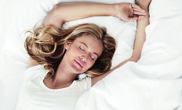 Hyvin nukkuva voi paremmin sekä henkisesti että fyysisesti.