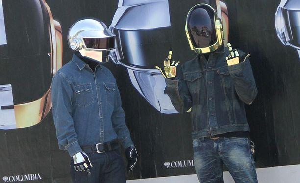 Thomas Bangalter ja Guy-Manuel de Homem-Christo ovat miehet Daft Punkin takaa.