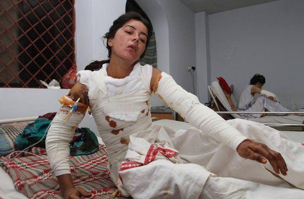 Sonia Bibi kuoli palovammoihinsa tänään tiistaina Multanin sairaalassa.