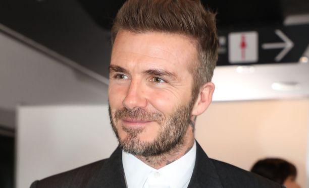 David Beckham haaveilee avaruusmatkasta.